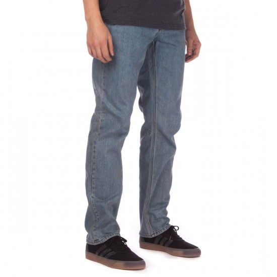 Volcom Solver Jeans - Cool Blue - 28 - 32