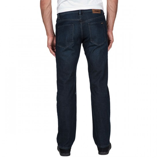 Volcom Solver Jeans - Used Blue - 28 - 30