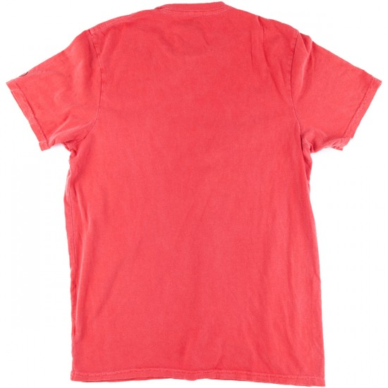 Volcom Washed Pocket T-Shirt - Red