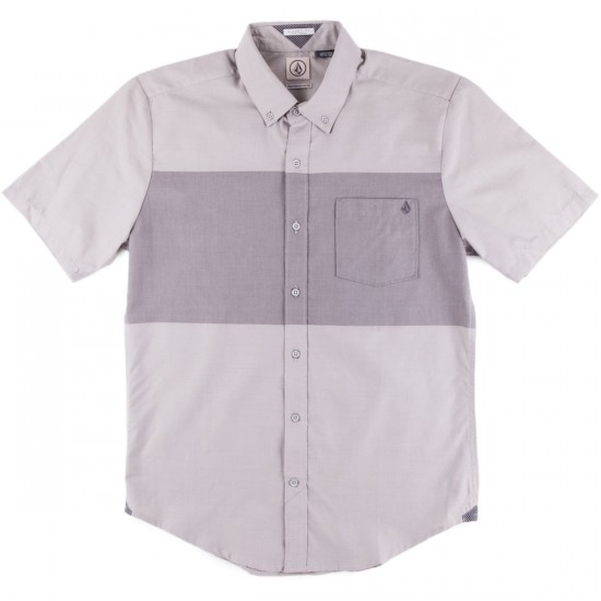 Volcom Weirdoh Big Stripe Shirt - Silver