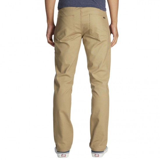 Volcom X Burger Records 5 Pocket Pants - Khaki