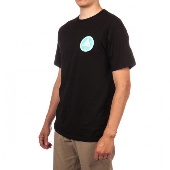 Welcome Bunny Heads T-Shirt - Black/Teal