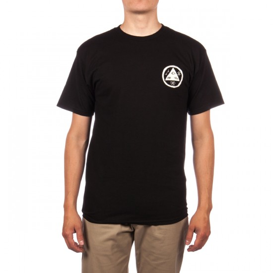 Welcome Talisman Discharge T-Shirt - Black