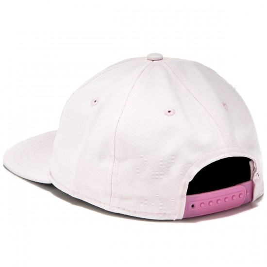 Welcome Talisman Unstructured Snapback Hat - Pink/Black