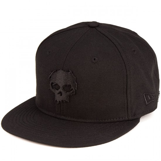 Zero Blood Skull Hat - Black Skull/Black Cap