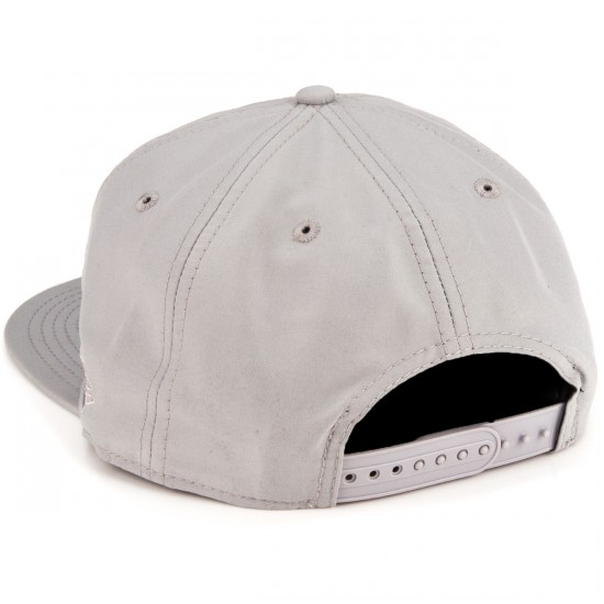 Zero Hardluck Unstructured Snap Hat - Grey