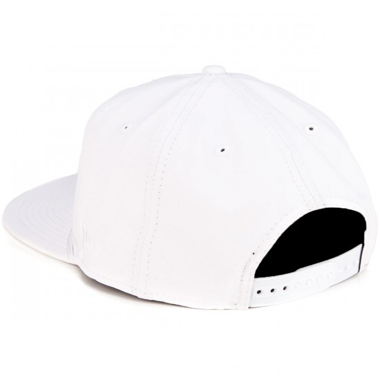 Zero Hardluck Unstructured Snap Hat - White