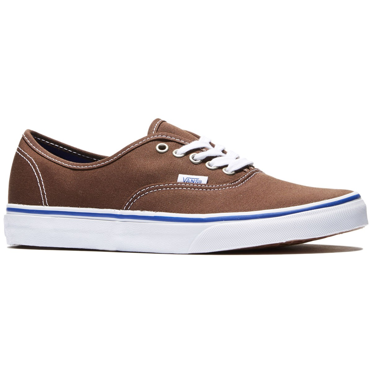 Vans Original Authentic Shoes - Chestnut/True White - 8.0