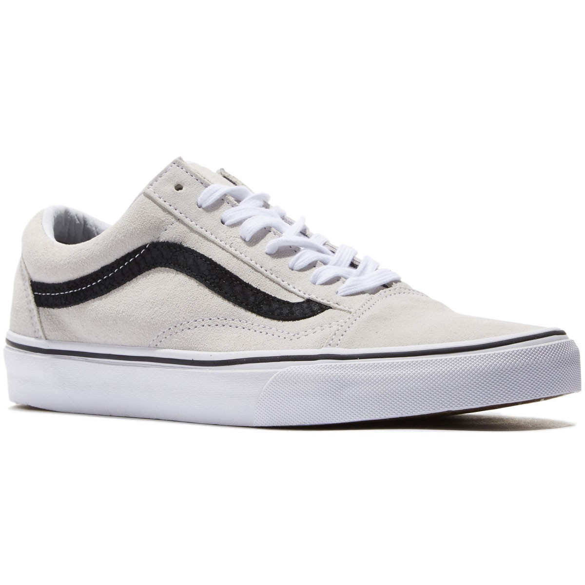 Vans Old Skool Shoes - White/Reptile/Black - 8.0