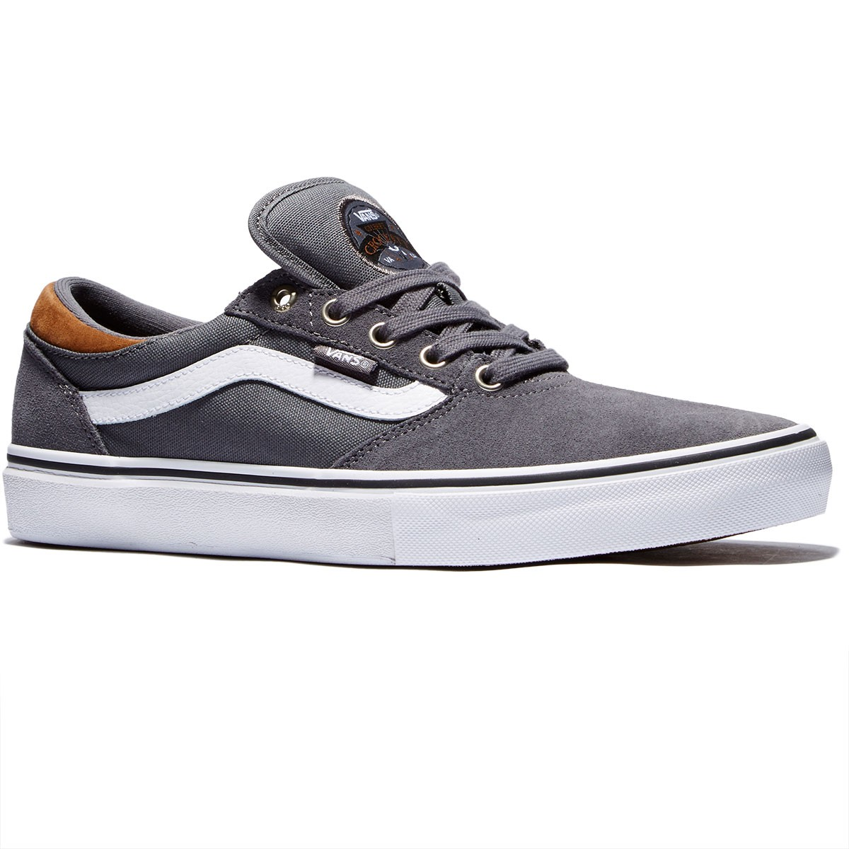 Vans Gilbert Crockett Pro Shoes - Tornado/White - 8.0