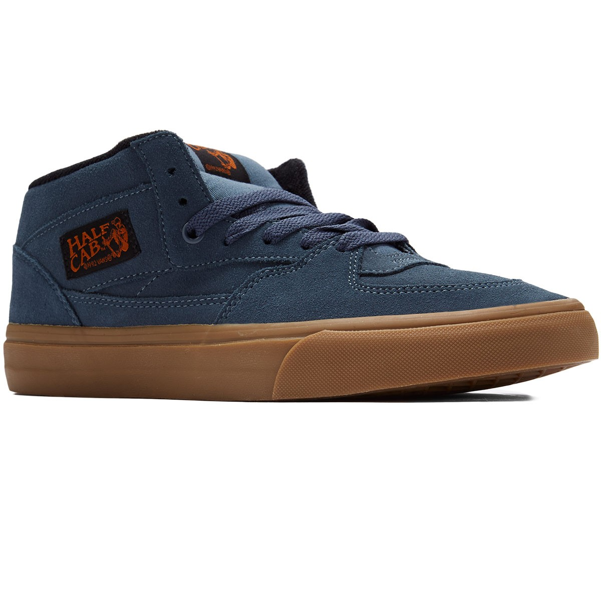 Vans Half Cab Shoes - Dark Slate/Black