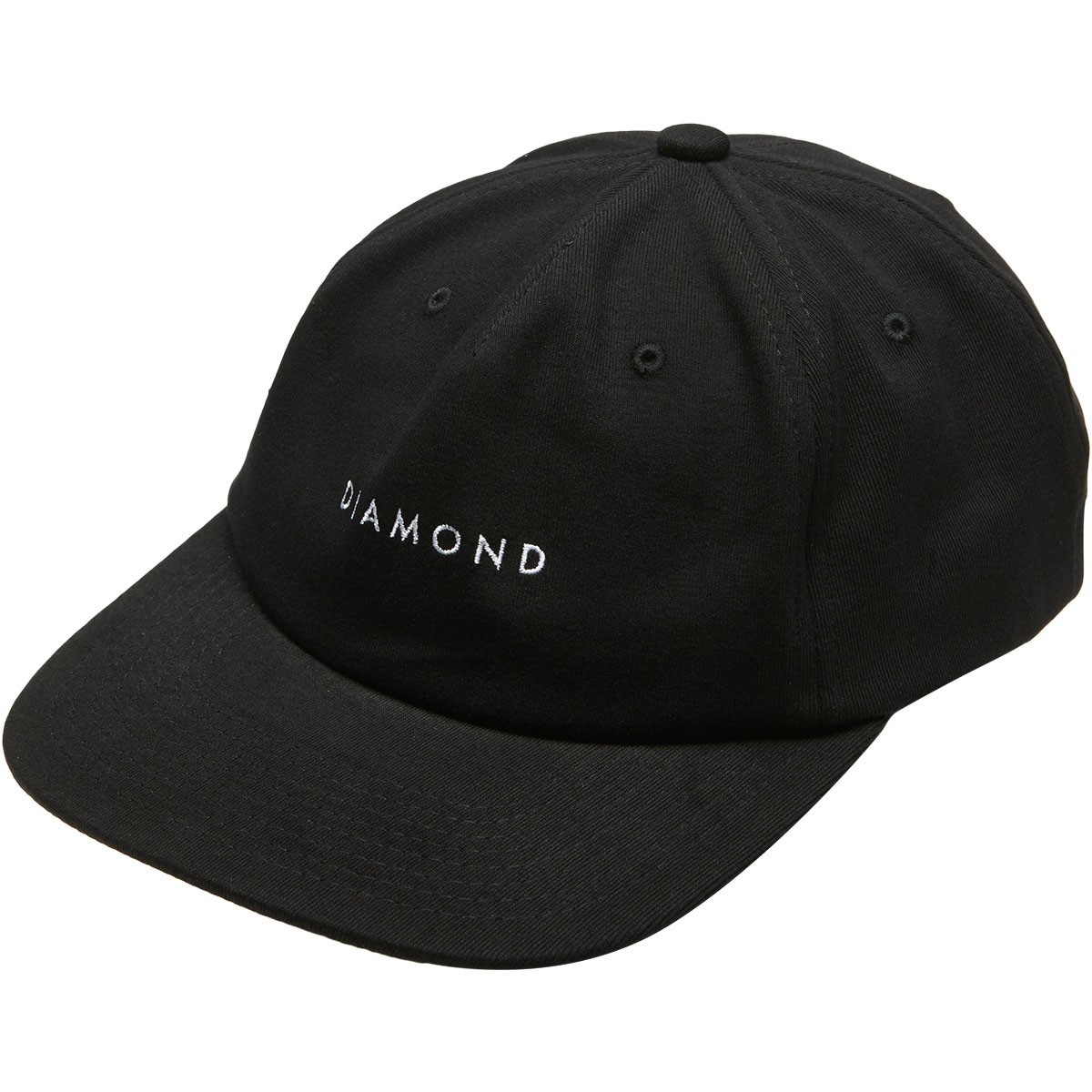 db45c4115a6 Diamond Supply Co. Leeway Unconstructed Snapback Hat - Black