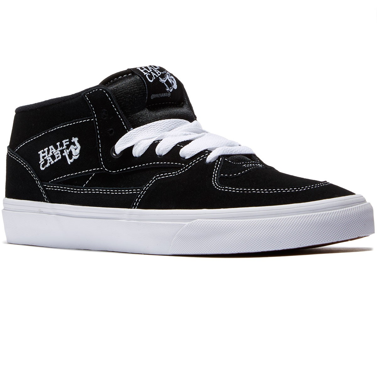 Vans Half Cab Shoes - Black