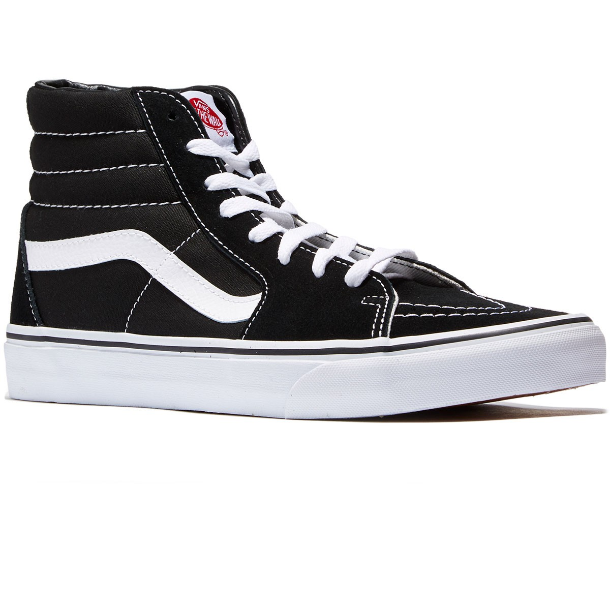 Vans Sk8-Hi Shoes - Black - 8.0