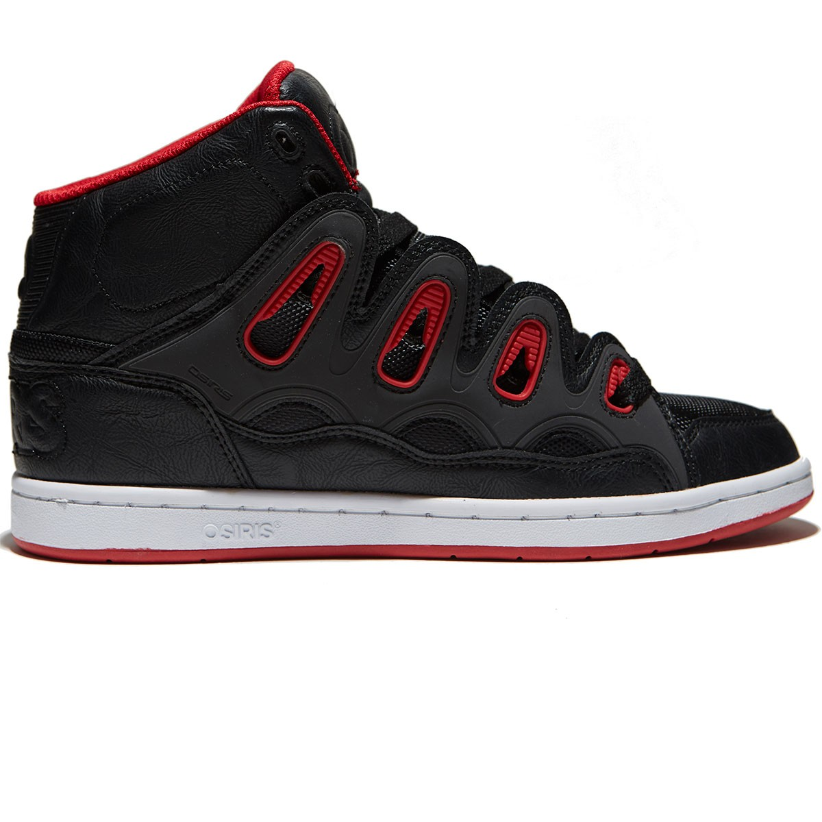 All Red Osiris Shoes
