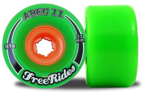 Abec11 Classic FreeRides Longboard Wheels 77mm