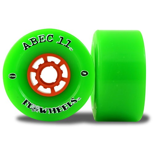 Abec11 Flywheels Longboard and Street Luge Wheels 97mm