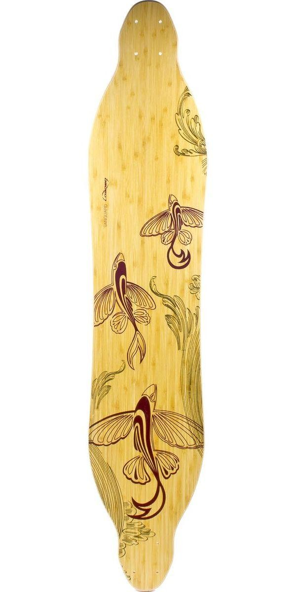 "Loaded Bamboo Vanguard 38"" and 42"" Longboard Skateboard Deck"
