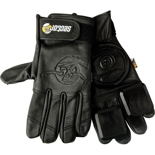 Sector 9 Niner Surgeon Slide Gloves - ALL BLACK