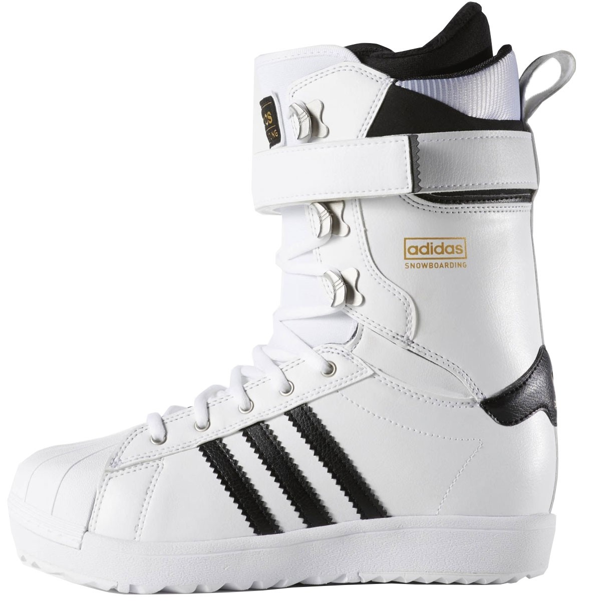 Adidas Superstar White Boots