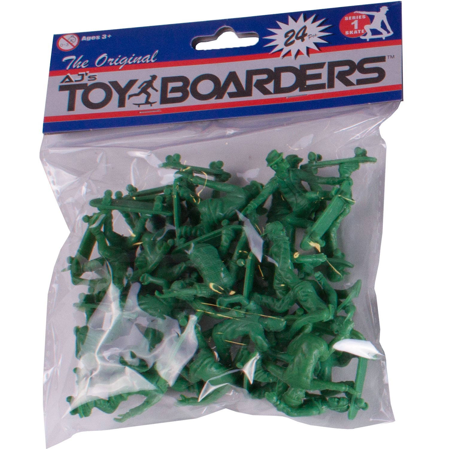 AJ's Toy Boarders 24-Pack - Skate - Series 1