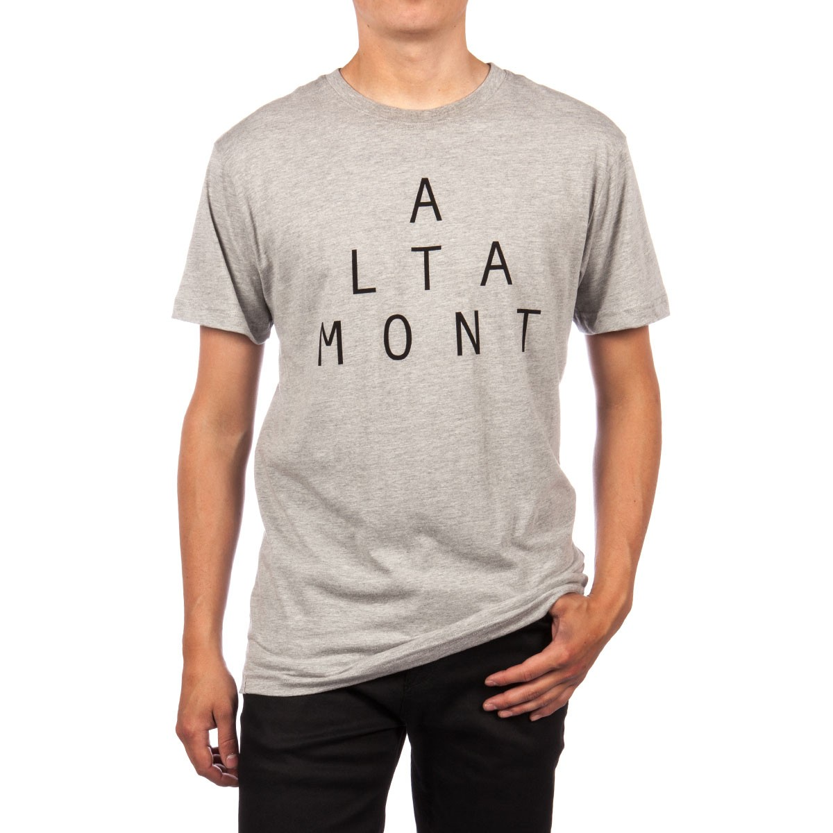 Altamont Lockstep T-Shirt - Grey/Heather