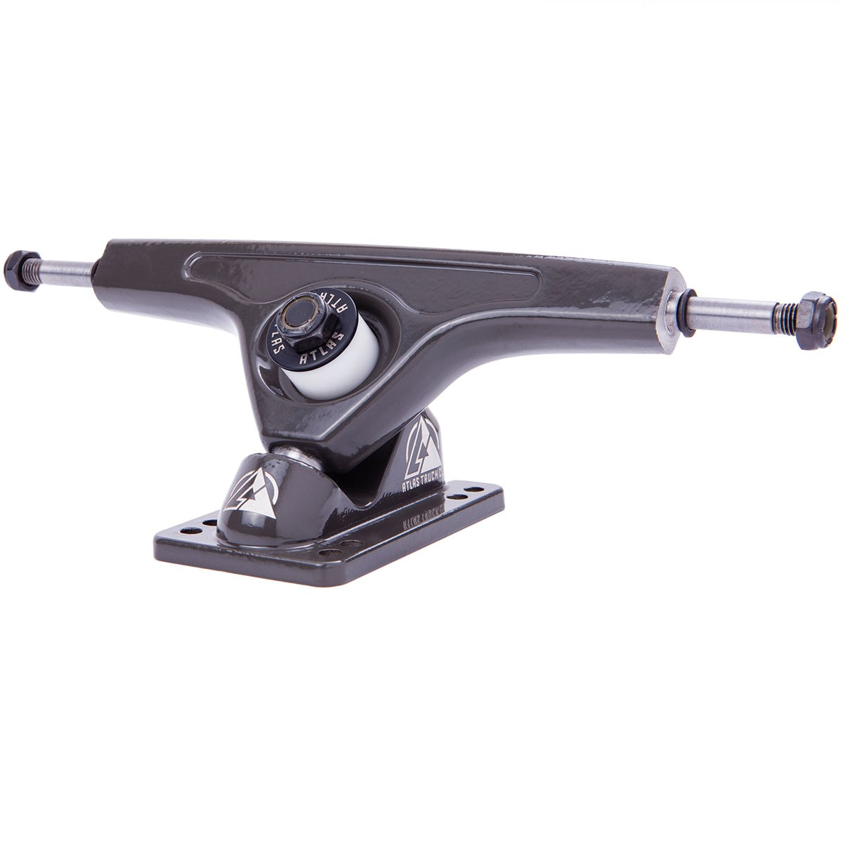 Atlas Truck Co. Longboard Trucks - Dark Grey 180mm