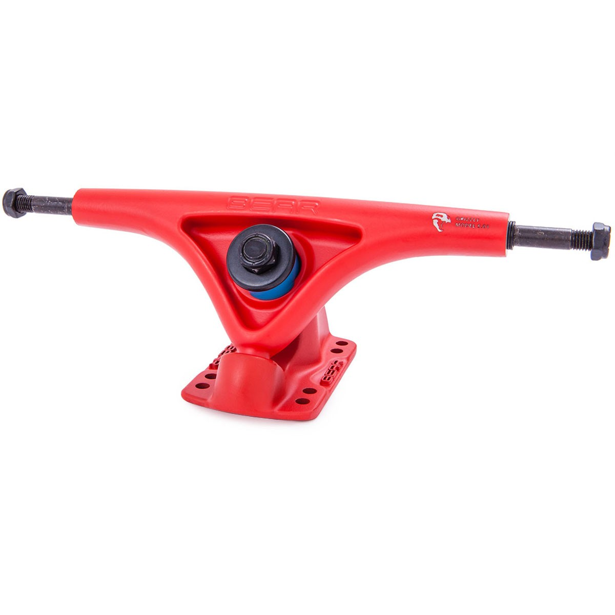 Bear Grizzly 852's Longboard Trucks - Matte Red 52 Degree