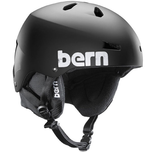 Bern Macon EPS Helmet - Dual Certified - Matte Black with Black Liner