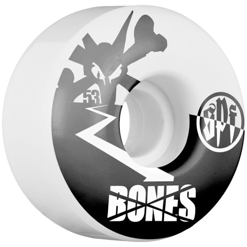 Bones SPF Two Tone Skateboard Wheels 53mm - 84B - V4