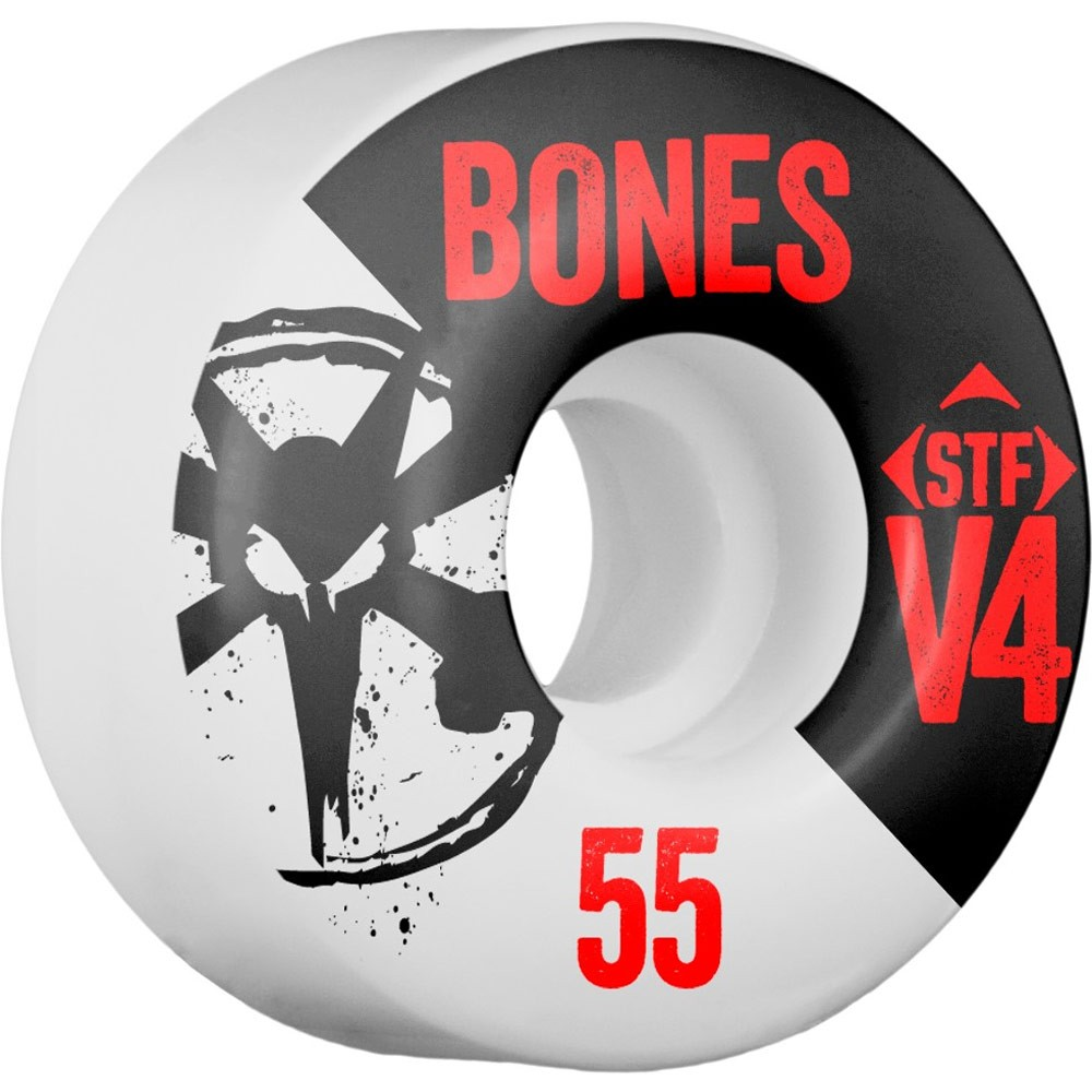 Bones STF V4 Series Skateboard Wheels - 55mm - 83B
