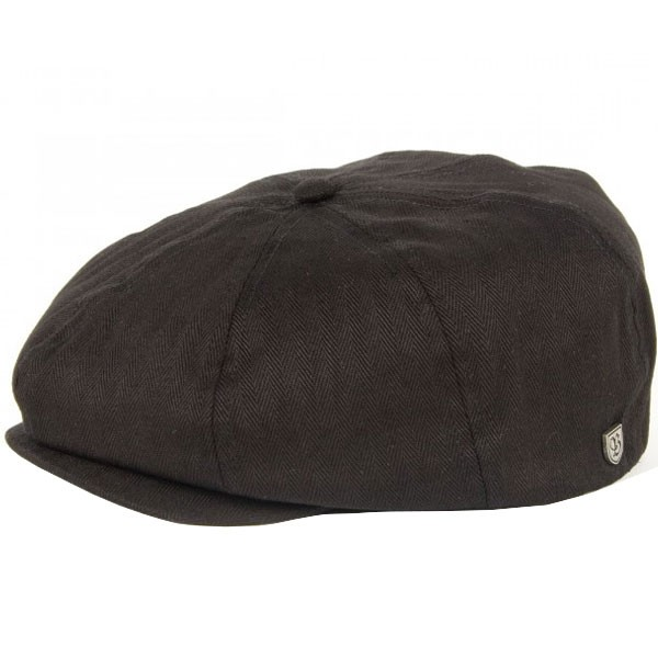 Brixton Brood Snap Cap - Black