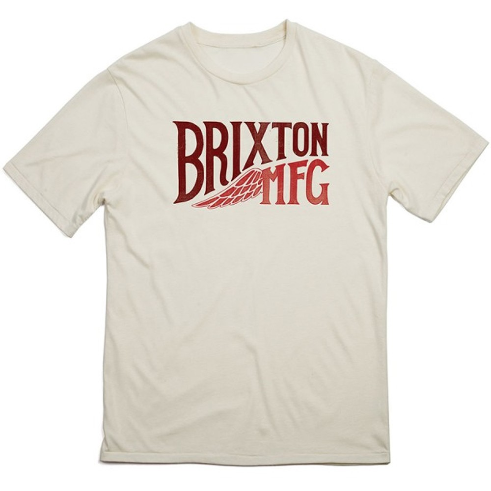 Brixton Coventry T-Shirt - Cream