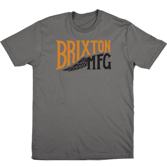 Brixton Girder T-Shirt - Charcoal