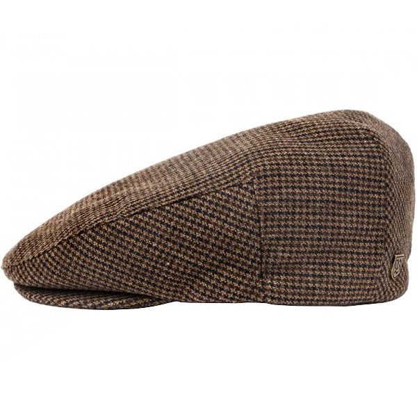 Brixton Hooligan Snap Cap - Brown