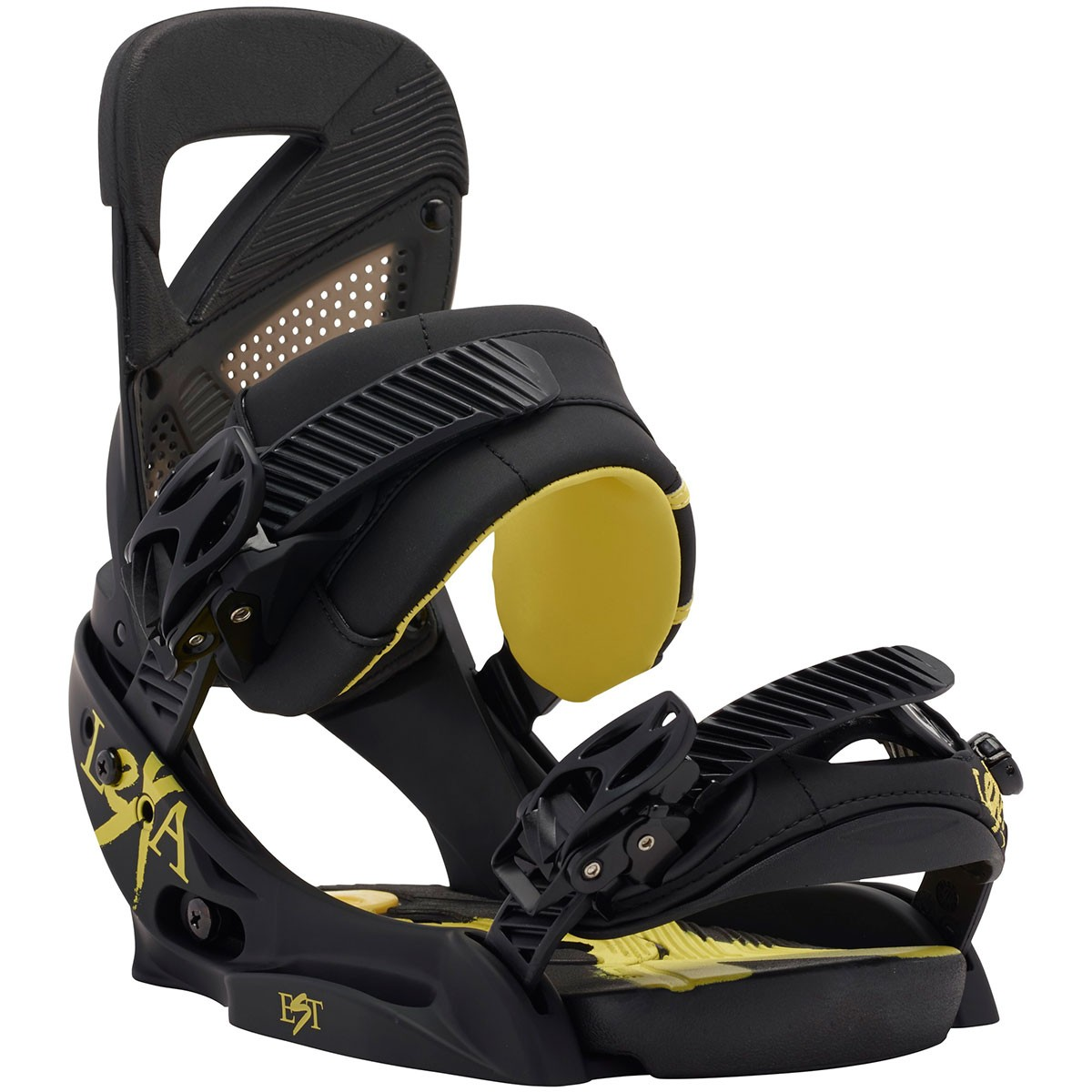 Burton Lexa Women's EST Snowboard Bindings 2015 - Black / Yellow
