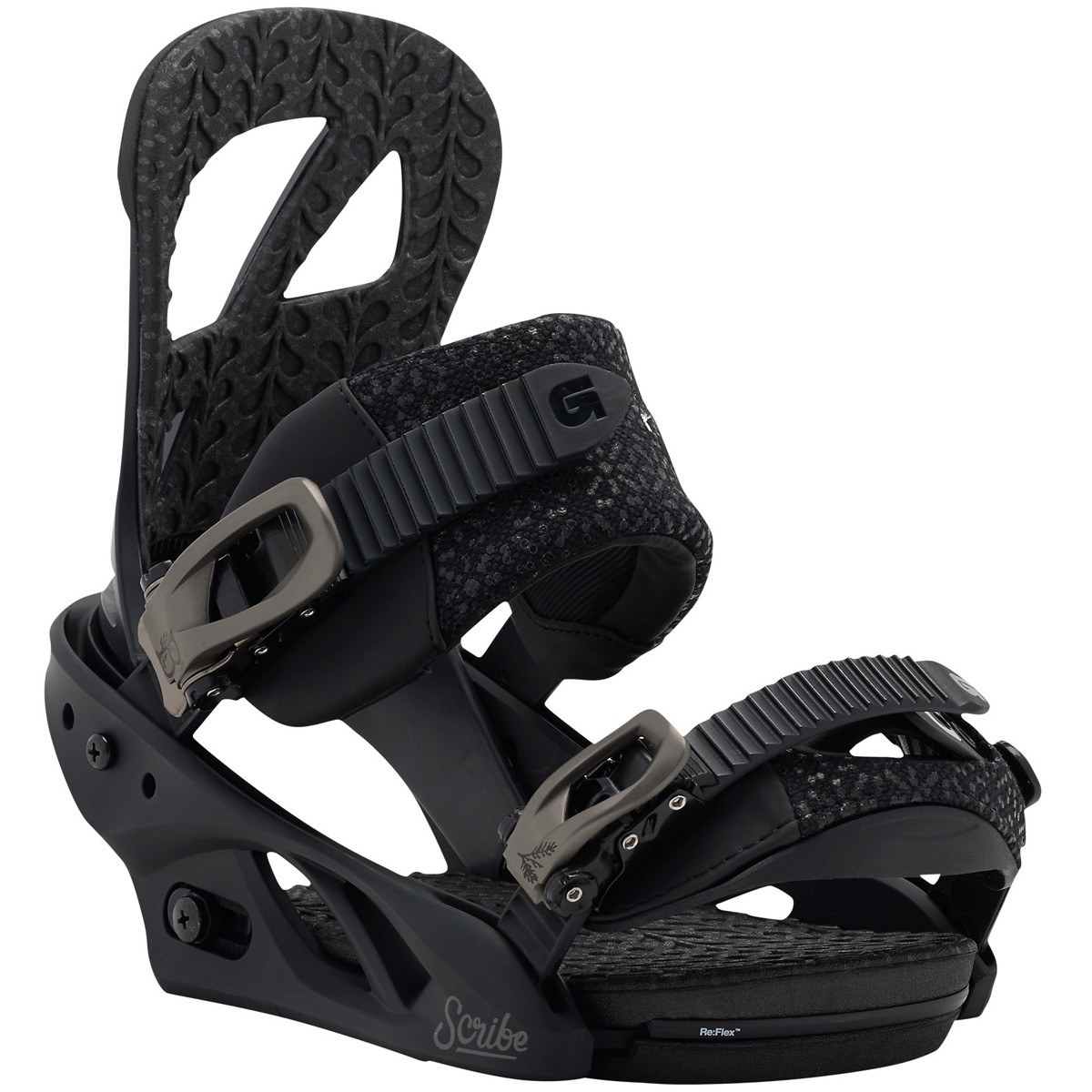 Burton Scribe Women's Snowboard Bindings 2015 - Black