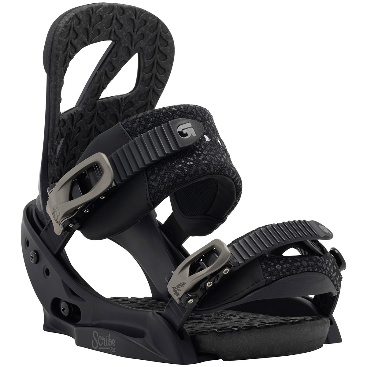 Burton Scribe Women's EST Snowboard Bindings 2015 - Black