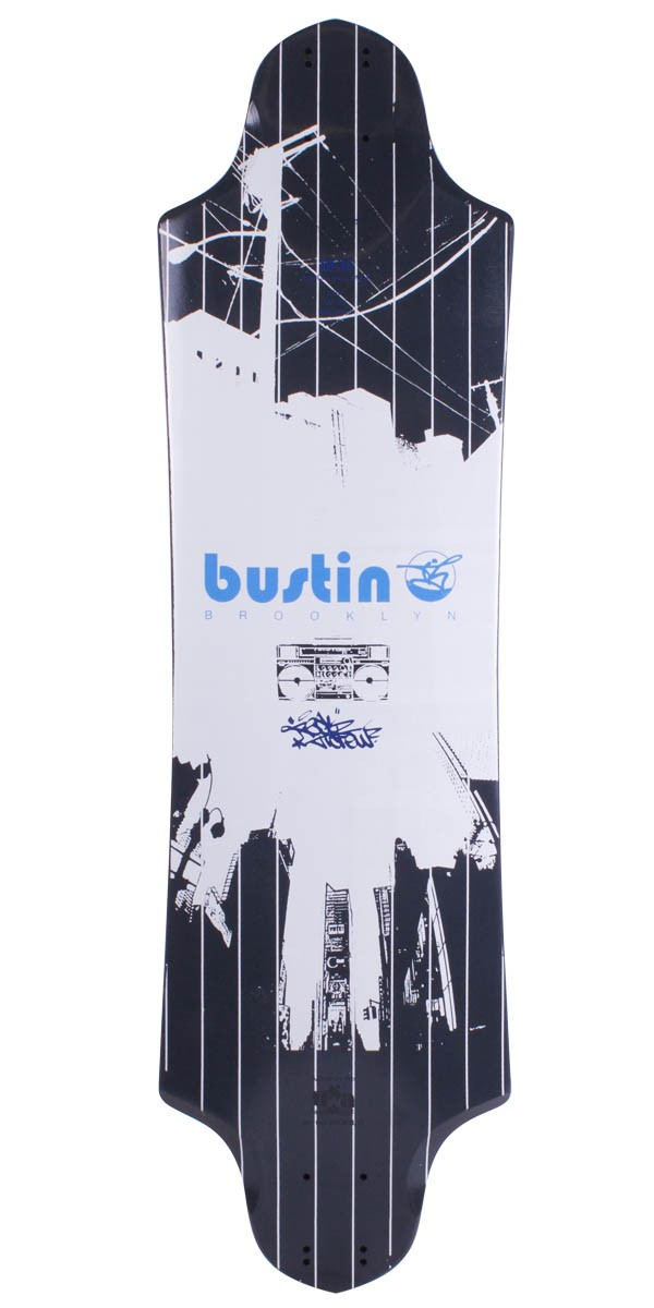 Bustin Boards EQ 36 Longboard Skateboard Deck