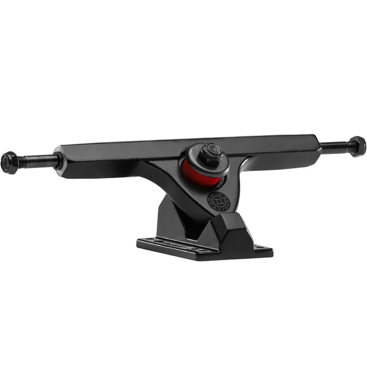 Caliber II Longboard Trucks - Black / Black 44 Degree