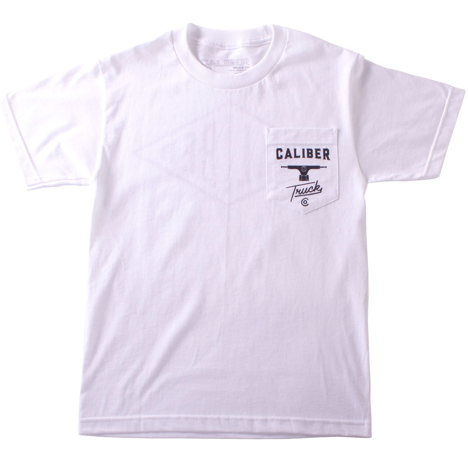 Caliber Pocket T-Shirt - White