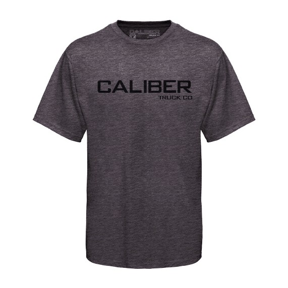 Caliber Truck Co. Logo T-Shirt - Grey