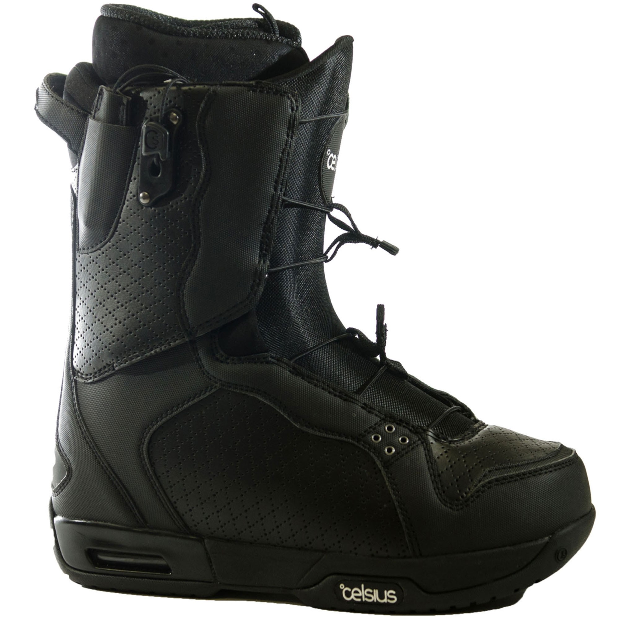 Celsius Cirrus O.Zone Speed Laces Snowboard Boots - Black
