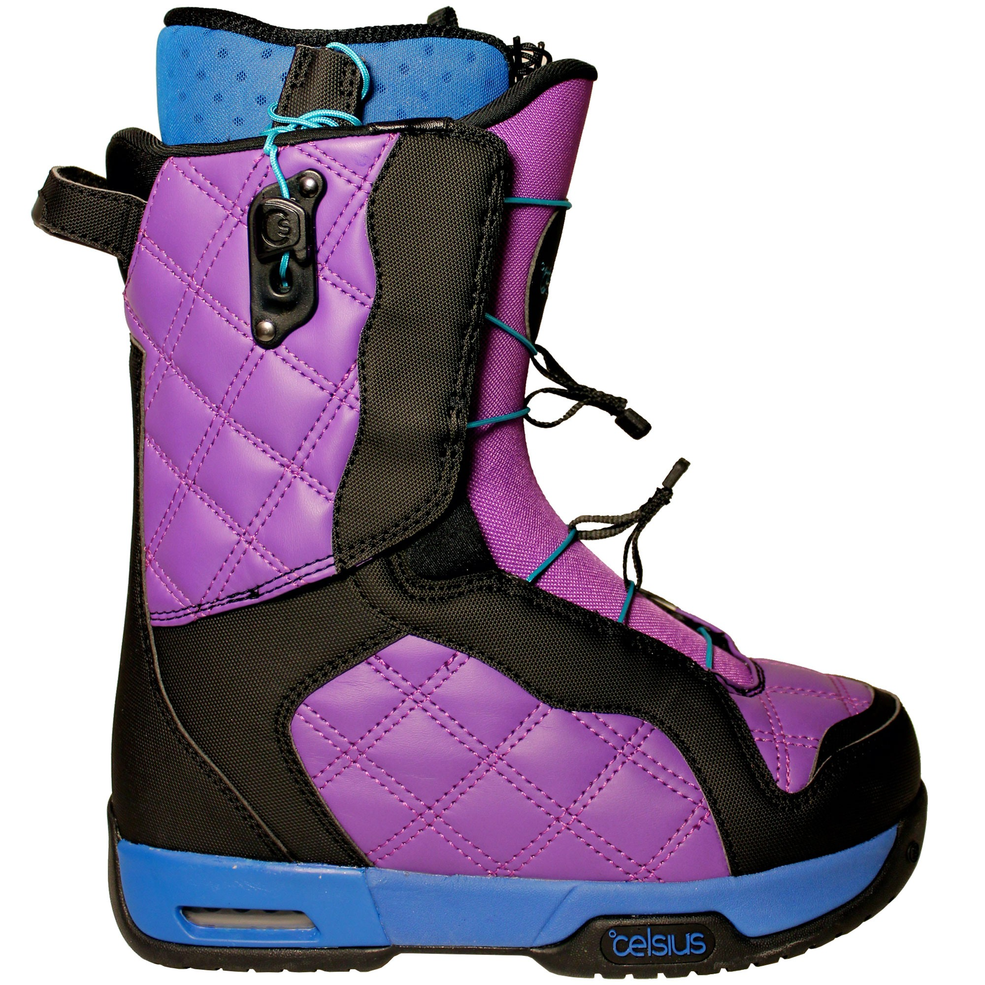 Celsius Cosmo O.Zone Speed Laces Womens Snowboard Boots - Purple