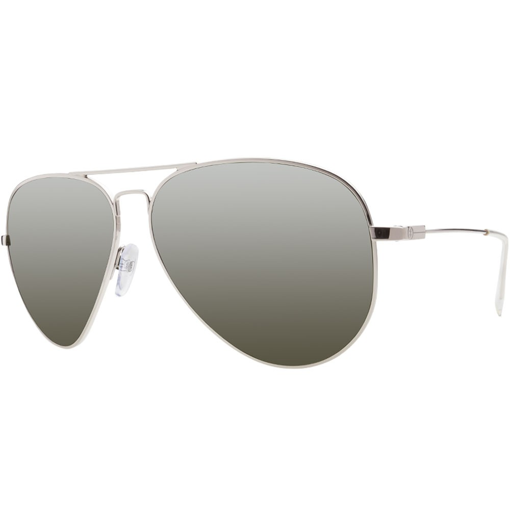 Electric AV1 Large Sunglasses - Platinum/Grey Silver Chrome
