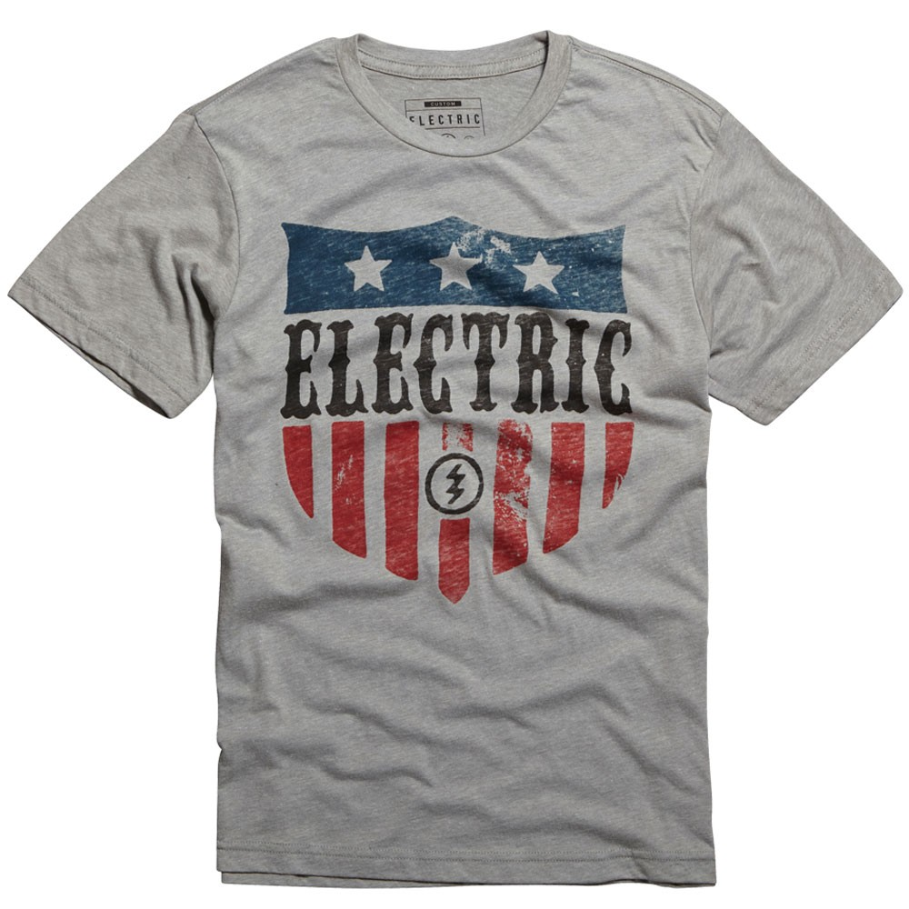 Electric Honor T-Shirt - Heather Grey