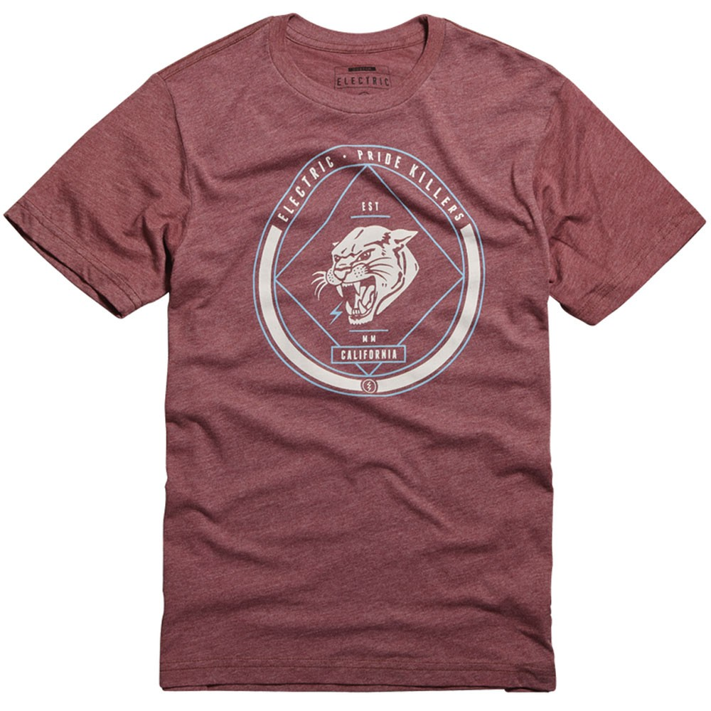Electric Killers T-Shirt - Blood Red Heather