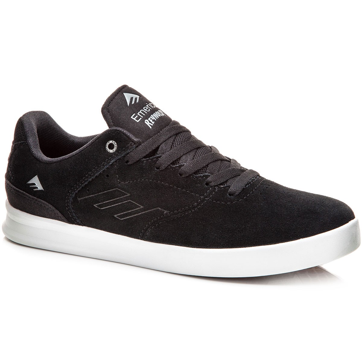 Emerica The Reynolds Low Shoes - Black/Silver - 8.0