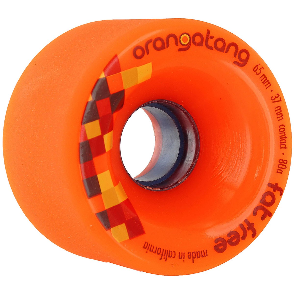 Orangatang Fat Free Freeride Longboard Wheels 65mm