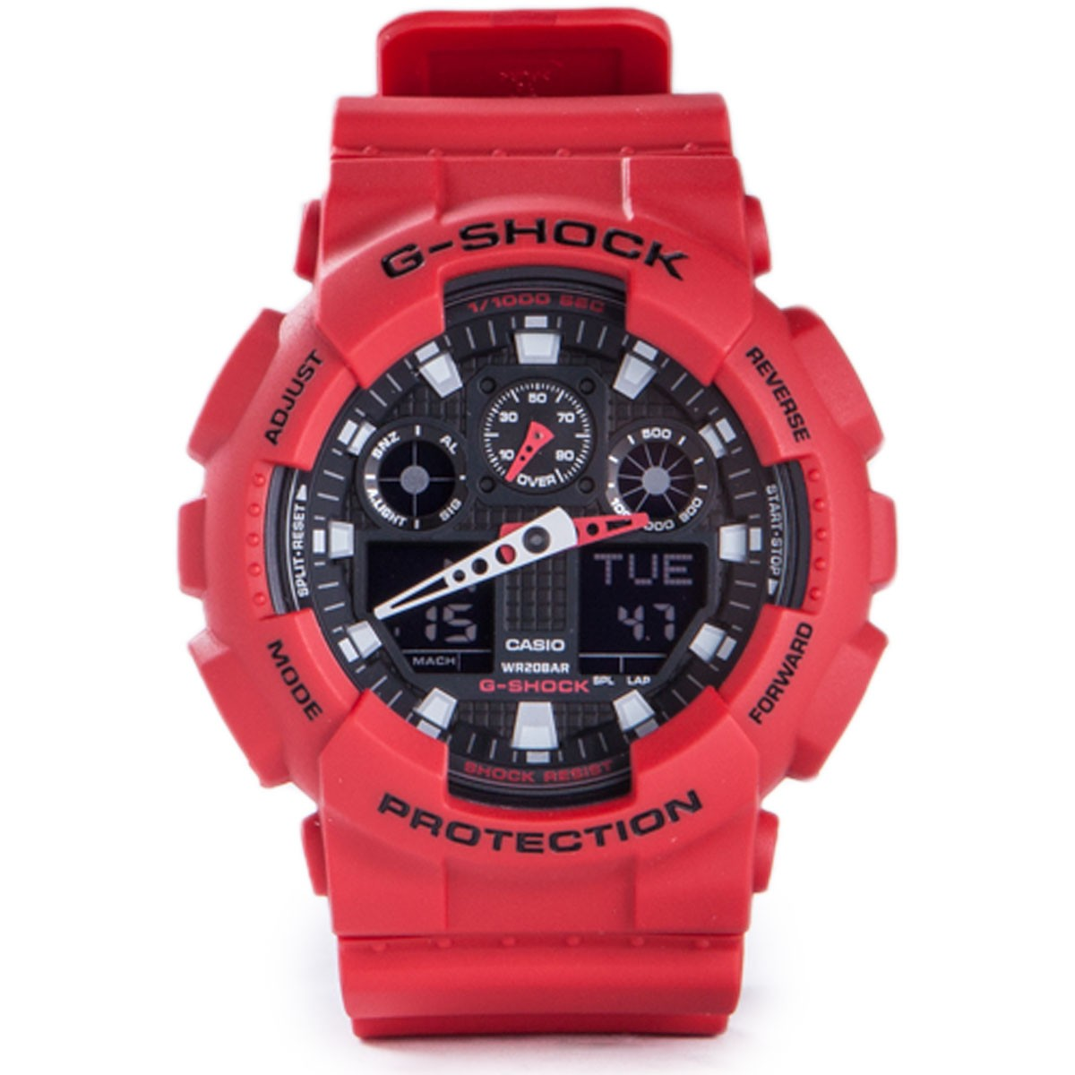 G-Shock GA-100 Limited Edition Watch - Red